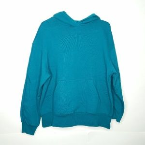 NWT! & Other Stories   Teal Oversized Hoodie   8
